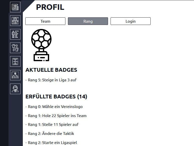 Anpfiff Onlinespiel Badges