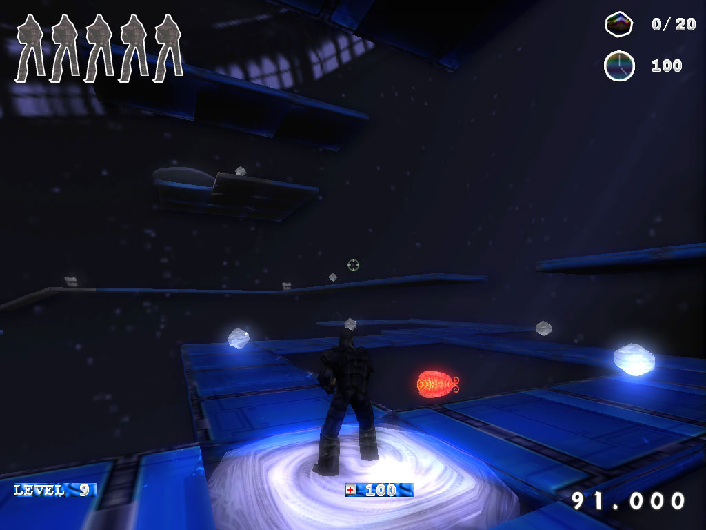 Ambient Runner Legend 2 Weltraum