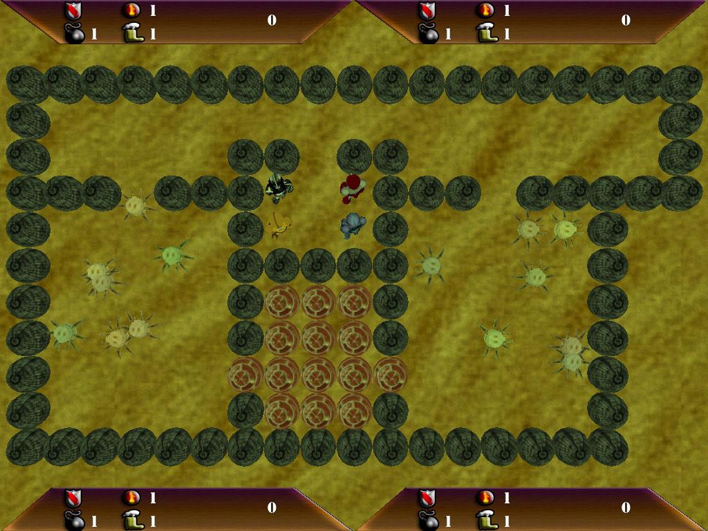 Bomb Attack Wüste