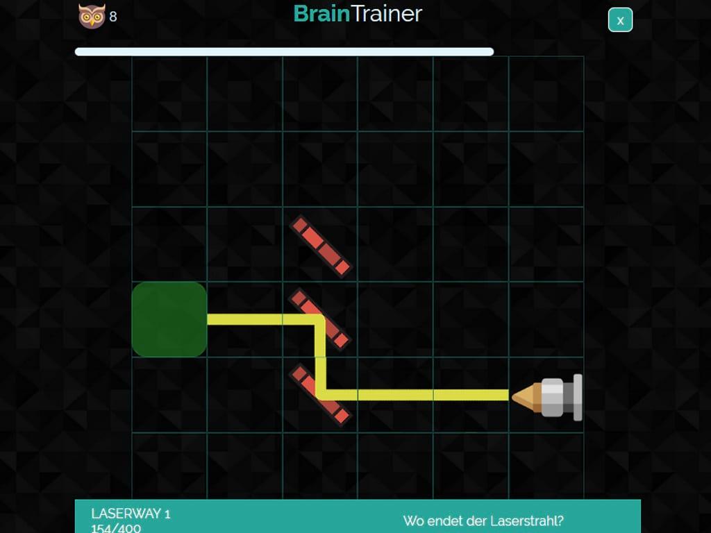 BrainTrainer Laserspiel