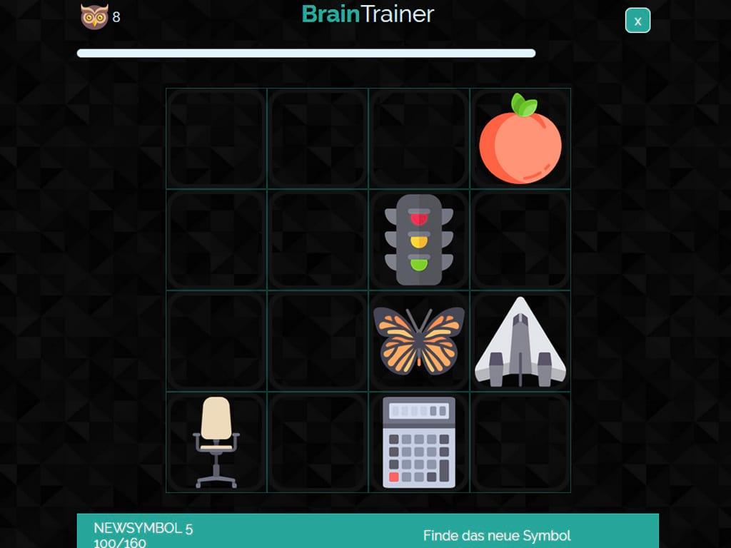 BrainTrainer Symbolraten