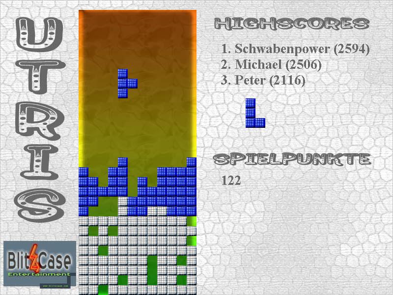 Utris Tetrisspiel